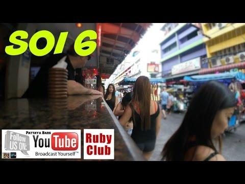 "Pattaya Soi 6 ""Ruby Club""  April 2016 Thailand"
