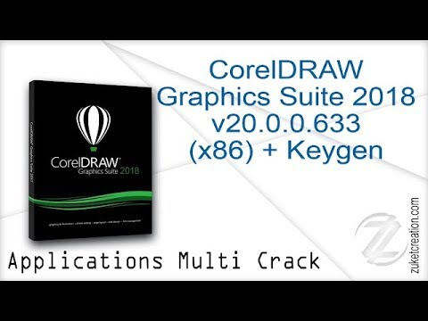 How to Get Corel Draw Graphics Suite 2018 Lifetime Activated With Keygen 100% Working