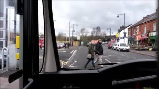 Trent Barton i4 Full Route Visual- Nottingham, Broadmarsh Bus Station to Derby Bus Station