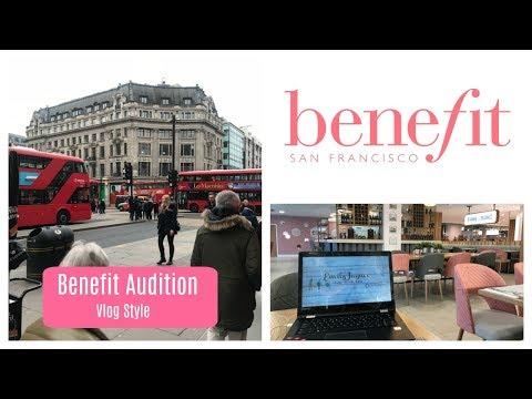 My Benefit Cosmetics Audition | Vlog