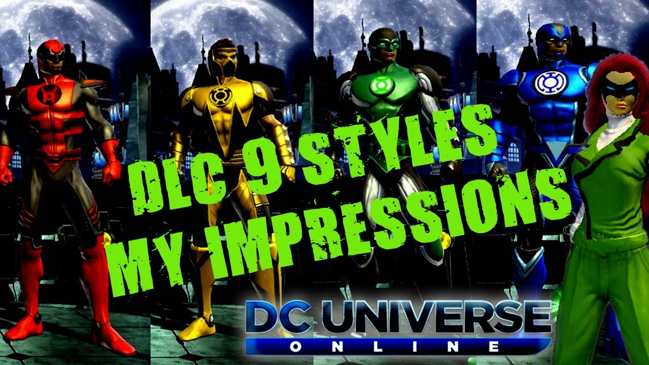 how to get green lantern armor in dcuo
