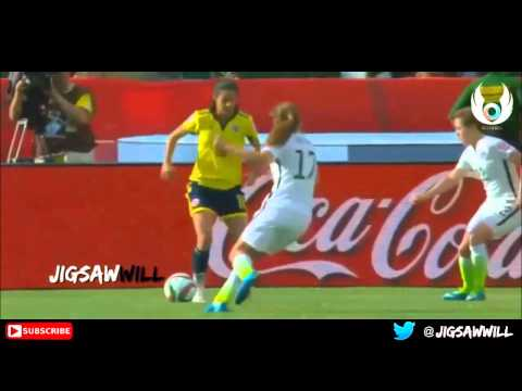 Lady ANDRADE  & Skills Midfield &  Colombia National Player