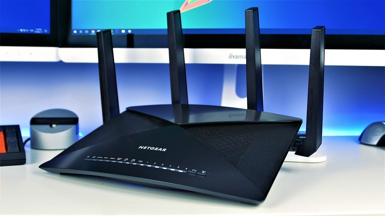 Netgear R9000 - Nighthawk X10 AD7200 Router - Unboxing and Review (4K)