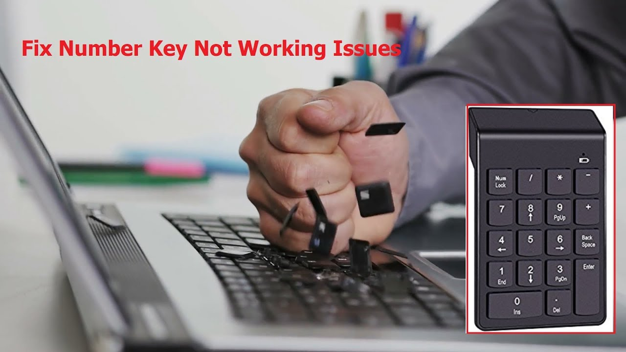 How to Fix Laptop or PC Number Key Not Working in Windows 10/8/7