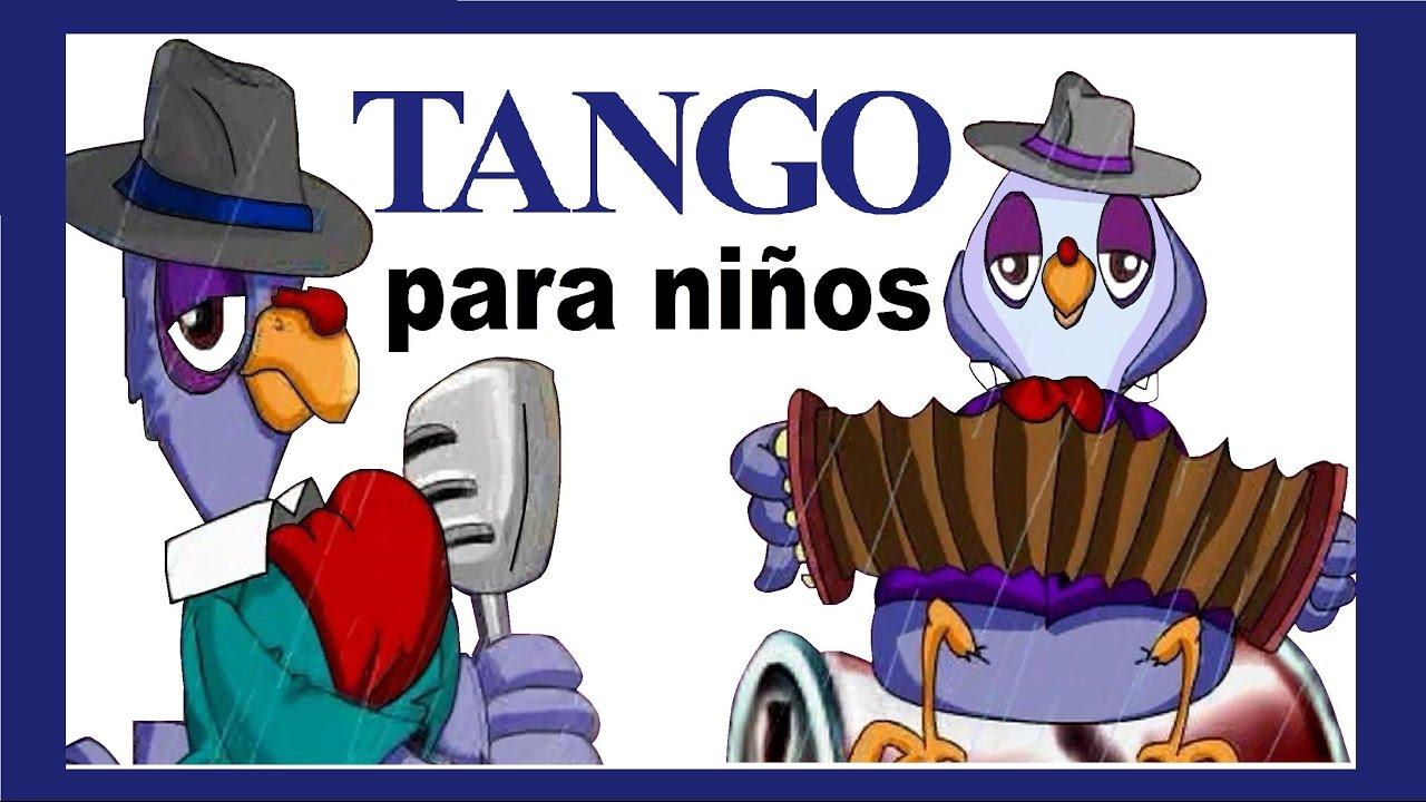 Baño Cancion Infantil:TANGO INFANTIL (Un pájaro en la lluvia) canciones infantiles
