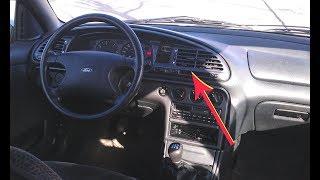 Ford Mondeo - Comment changer remplacer réparer l´horloge de bord