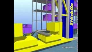 Автоматические малогабаритные склады  для хранения контейнеров, картонных коробок и лотков(Компания Stöcklin предлагает автоматические краны-штабелеры и конвейерные системы, предназначенные для работ..., 2013-09-23T10:54:21.000Z)