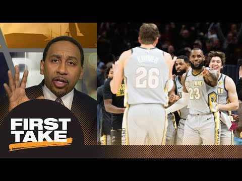 Stephen A. Smith: 'Hell yeah' Cavaliers got lucky beating Timberwolves | First Take | ESPN