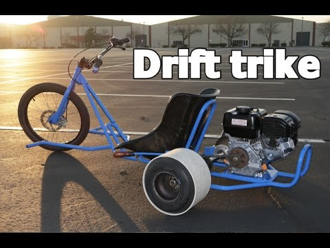 MOTORIZED DRIFT TRIKE HOME BUILD PROJECT