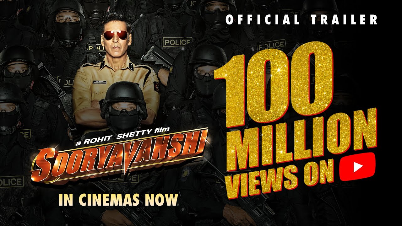 Sooryavanshi | Official Trailer | Akshay K, Ajay D, Ranveer S, Katrina K | Rohit Shetty | 24th March