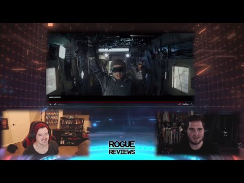 LIVE 🔴 READY PLAYER ONE Trailer Breakdown | Rogue Reviews