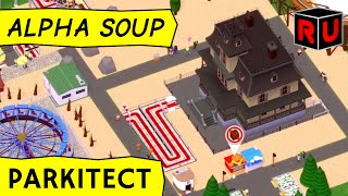 Parkitect gameplay: 2 Fast, 2 Vomitous! (PC alpha 2a gameplay)