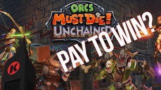 Orcs Must Die! Unchained Gameplay - Orcs Must Die Goes FREE TO PLAY?!