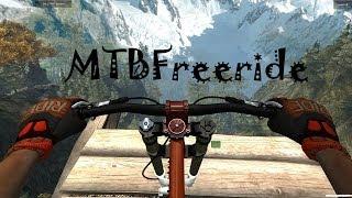 обзор на игру: MTBFreeride(Симулятор Велосипеда)