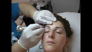 Machiaj semipermanent sprancene Clinica Slimart make up artist Zarescu Dan  ZDM