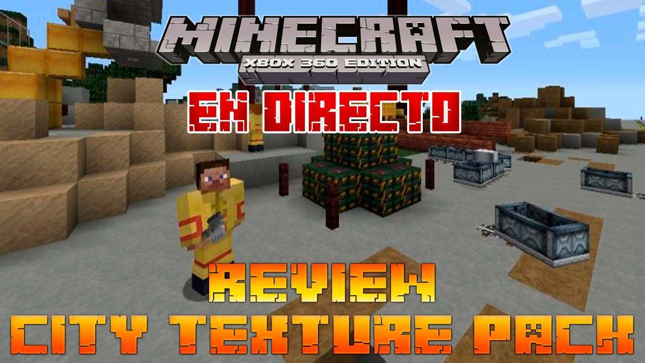 Minecraft Xbox 360: Review City Texture Pack - YouTube