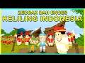 ZEDDAX DAN ENCES KELILING INDONESIA!! Mini World Block Art Indonesia