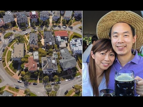 The Couple who bought San Francisco STREET with 38 mansions on it for just $90,000