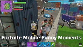 Fortnite Mobile Funny Moments