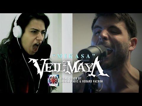 VEIL OF MAYA – Mikasa (Cover by Lauren Babic & Gerard Vachon)