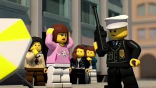 LEGO City Mini Film Rocket Cash and Flying Thieves