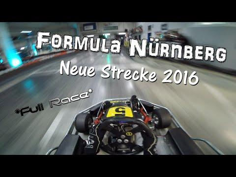 Formula Nürnberg - NEUE STRECKE 2016 - Kart Rennen + RACE DATA - GoPro Hero3+