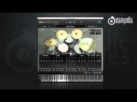Urban Drums - Acousticsamples