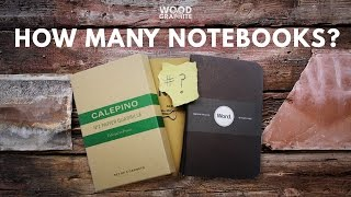 How Many Notebooks is Too Many Notebooks? - ✎W&G✎