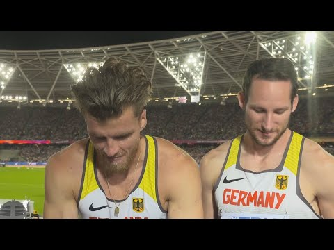 WCH 2017 London– Rico Freimuth & Kai Kazmirek GER Decathlon Silver & Bronze