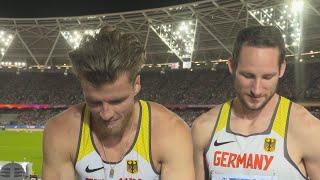 WCH 2017 London– Rico Freimuth & Kai Kazmirek GER Decathlon Silver & Bronze
