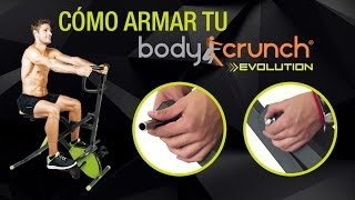 Cómo armar Body Crunch Evol - Paso a Paso - OFICIAL INOVA BODYCRUNCH | Unboxing | Instructivo