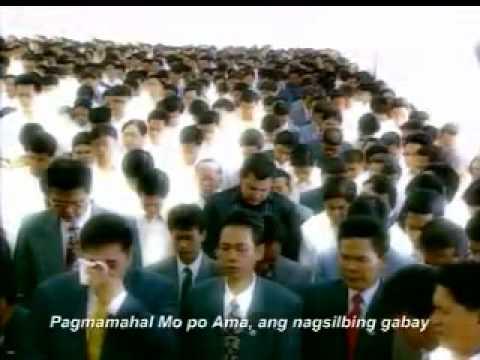 "Ama Salamat Po sugn by"" John Regala"