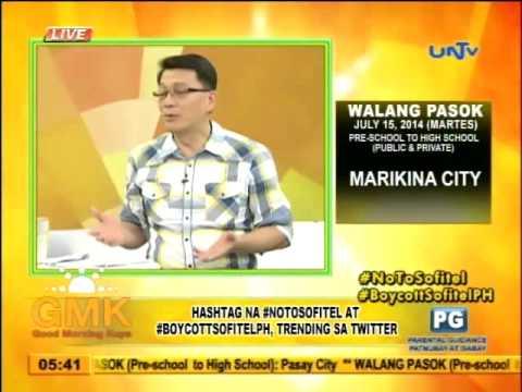 Why UNTV protests against Sofitel Manila