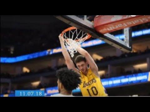 ТРК ВіККА: Прописка в НБА: Черкасець Михайлюк підписав контракт із «Лос-Анджелес Лейкерс»