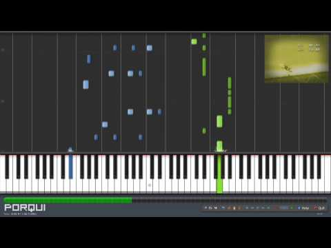 Naruto Ending 1 - Wind (Synthesia)