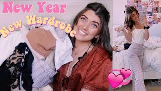 New Year, New Wardrobe! huge clothing haul 2020!