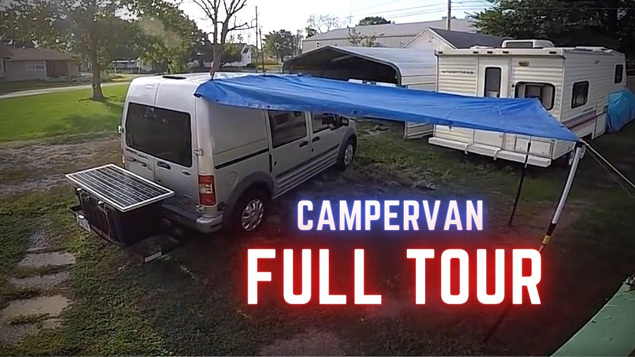 DIY Camper Van Conversion Life 2010 Ford Transit Connect Final Overview