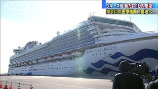 新型コロナ 横浜港クルーズ船で新たに10人感染確認(20/02/06)
