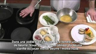 Oeuf - omelette asperges