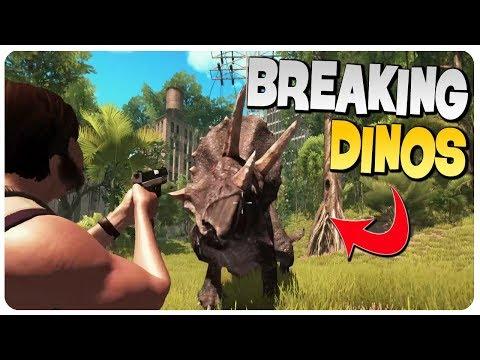 Download Youtube: HELP! I'VE BROKEN THE DINOSAURS n' I'M LOST!   Dinosis Survival Gameplay