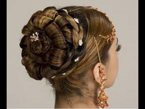 beautiful bridal hair style tutorial