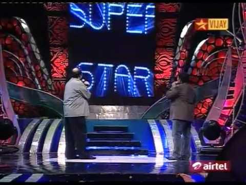Rajini Special=Airtel Supersinger 3 = 031. Director Suresh Krishna introduct ion.MPG - YouTube.flv