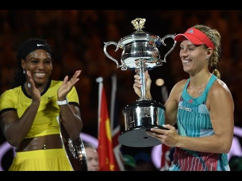 Angelique Kerber VS Serena Williams Highlight 2016 AO Final
