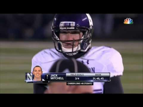 Northwestern Wildcats vs. Notre Dame Fighting Irish - Final Plays - WGN Radio - November 15, 2014