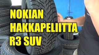 Новинка! Обзор зимней резины NOKIAN Hakkapeliitta R3 SUV