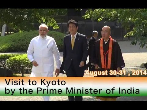 Prime Minister of India visits Kyoto