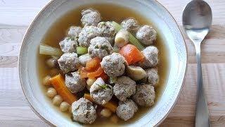 Oatmeal Turkey Meatball Soup 營養麥火雞肉丸湯