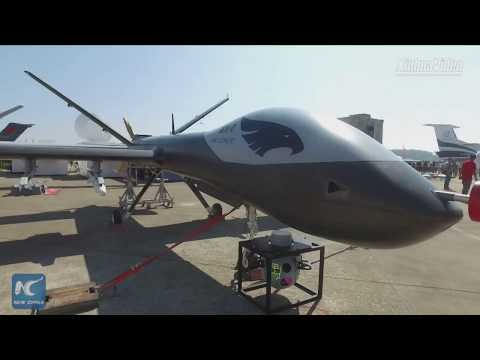 China's Wing Loong I-D drone unveiled at airshow in Zhuhai