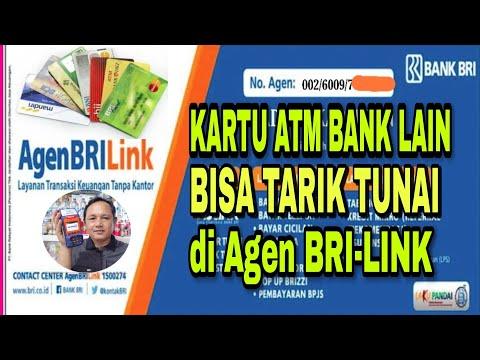 BISA TARIK TUNAI DENGAN KARTU ATM BANK LAIN DI BRILINK