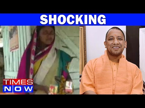 UP Babus Hand Out Soaps To Locals Ahead Of CM Yogi Adityanath's Visit